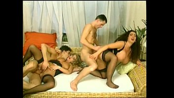 black haired bustyTiziana Redford afternoon sex party porn image