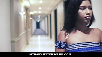MyBabysittersClub - Tricked By The Babysitter (Martini Bows) To Fuck