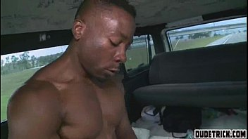 Black Guy Gets Cock In Dudes Ass