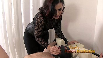 Dunked female sex slave Masked gimp learns what real female domination feels like