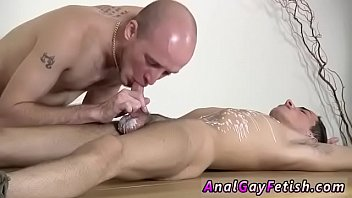 Gay porn clip kiss video first time Dom stud Kieron Knight has a