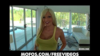 Porn star six pack Beautiful big-tit blonde rikki six bounces her ass on hard cock