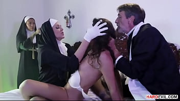 Biggest exorcism with a wild fuck