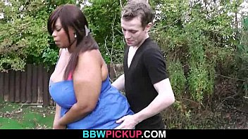 Fat black hottie is pounded by a golf coach