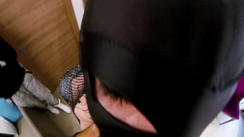 Slut Mother and Son in Daddy's bedroom while Sister film by cellphone (Quarantine sex) thumbnail