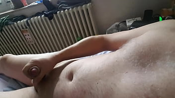 Jerking off while watching porn