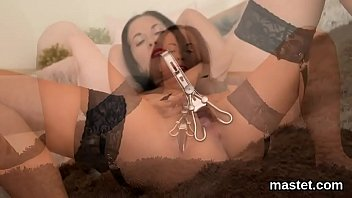 Peculiar czech girl gapes her yummy snatch to the special