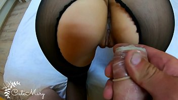 CHEATING WIFE STRANGER TAKES CONDOM OFF AND GETS ACCIDENTAL CREAMPIE