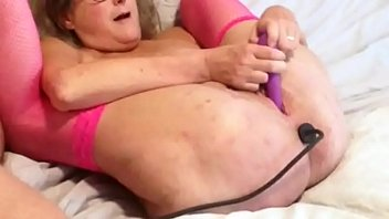 Slut Wife Has A Buttplug Inserted While She Toys Her Hot Mature Cunt
