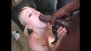 Due time Sharon blonde interracial all