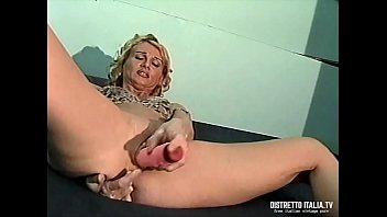 My wife likes the dildo all in pussy and the finger all in the ass
