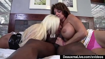 Matures blow for a buck - Mature mommy deauxma ashlee chambers share big black cock