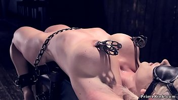 Orlando fetish - Busty milf gets device bondage