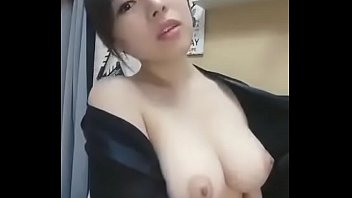 Cute Chinese Showing Tits