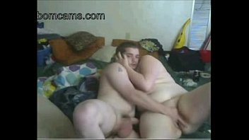 Horny Fat BBW GF fucking with her BF on Webcam- bomcams.com