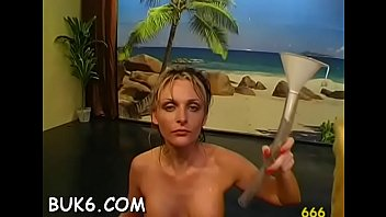 Lesbian babes gets group pissing