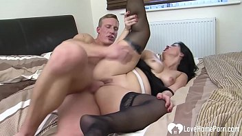 Free milf in stockings Hot milf gets pounded while wearing stockings