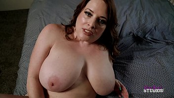 Thick Step Mom with Huge Tits Catches Me Jerking Off - Maggie Green Preview