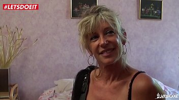 LETSDOEIT - French Cougar Loves Young Big Cocks