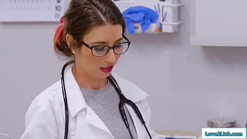 Milf And Stepdaughter Lick Doctors Pussy