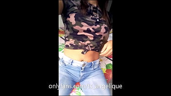 TS Angelique - Compilation of 68 sexy selfie video clips - part 1