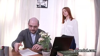 Fervid schoolgirl gets tempted and nailed by her senior teacher