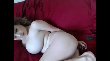 Hot girl with big tits ass masturbate