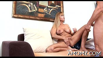 Milfs getting pounded Throbbing penis rams mature pussy