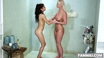 Katya just nude - Stepmom visits the massage spa katya rodriguez and london river