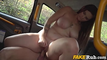 Curvy Teen Turns Cab Ride Into Cock Ride- Taylee Wood