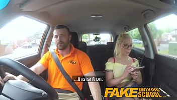 Fake Driving School Big tits blonde gets fucked and cum splattered glasses Vorschaubild