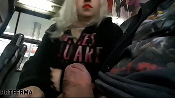 Blowjob on the bus