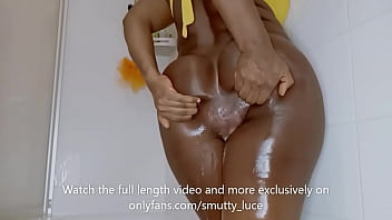 Dirty Anal water gushing out and serious ass fucking