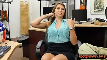 Big tits babe screwed by horny pawn guy at the pawnshop