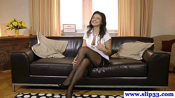 Naughty euroslut auditions with great pov bj