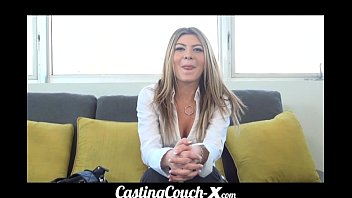 Castingcouch-X Dumb Blonde Coed Needs $$$