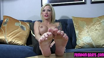 Ready to suck on Bella's Ink's toes?