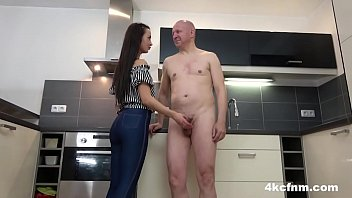 Teasing Dirty Old Cock Fully Clothed