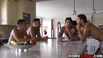 Gay jock can't stop thinking about step-brother's cock