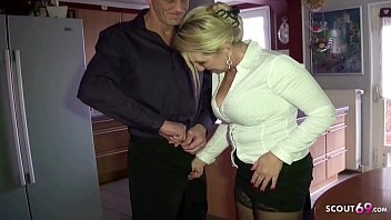 The Manly Man Fucks Her Pussy Hard As He Likes