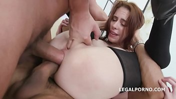 Dap Destination with Anna De Ville 4on1 Balls Deep Anal Full Nelson DAP   Monste
