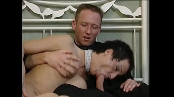 Hot classy lady gets fucked by priest