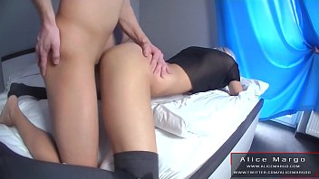 Hard Doggy Fuck and Cum on Young Beuaty Butt! AliceMargo.com