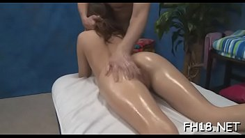 Charming 18 year old hungarian princess gets fucked hard by her massagist