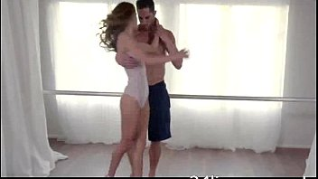 Beautiful Teen Dancer Getting Fucked While Danceing..Super H