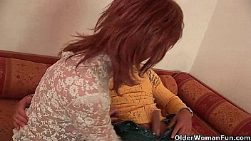 Red hot grandma with firm tits gets fucked thumbnail