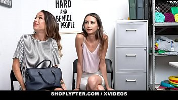 CoverShopLyfter - Huge Tits Milf (Mckenzie Lee) and Hot StepDaughter (Natalia Nix) Give Head To Avoid Jailtime