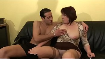 Hot Busty Mature Woman Ha Sex With Younger