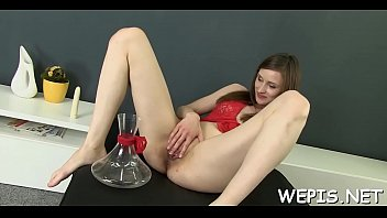 Lovestick riding ends with lots of awesome Nolita's orgasms