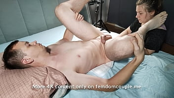 My wife gives me the best gift for my birthday - Prostate Massage 11 min